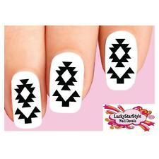 Waterslide Nail Decals Set of 20 - Native American Indian Design