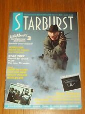 STARBURST #111 BRITISH SCI-FI MONTHLY MAGAZINE NOVEMBER 1987 FREDDIE KRUEGER