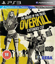 The House of the Dead Overkill PS3 *in Excellent Condition*