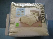 home classics BEDDING SET PALM TAN 7 PIECE CAL KING  $229.99