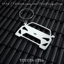 Toyota GT86 Stainless Steel Keychain