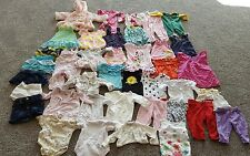 Baby Girls Clothes/ Cute Dresses Lot of 35 pieces 6-9 months for Spring & Summer