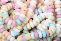 CANDY NECKLACES X 50 RETRO BAG OF SWEETS PICK N MIX PART BAG FILLERS BEADS