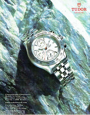 PUBLICITE ADVERTISING 056  2003  Tudor  la montre chronographe chronomatic