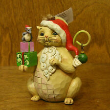 Jim Shore Heartwood Creek ORNAMENT #4047801 CHRISTMAS CAT, New From Retail Store