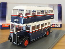 CORGI OOC ASHTON CORPORATION TRANSPORT CROSSLEY DD42 BUS MODEL OM41610A 1:76