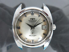 Auth TECHNOS Sky Light Automatic Men's Wrist Watch Antimagnetic 2632 Swiss Made