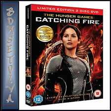 THE HUNGER GAMES - CATCHING FIRE LIMITED EDITION 2 DISCS  ***BRAND NEW DVD ****
