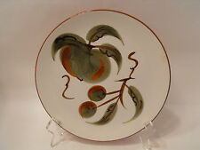 STANGL POTTERY  ORCHARD SONG SALAD PLATE   DURA FIRED  8 INCHES