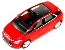 Citroen C4 Picasso New Style 5 Seat Model Car New + Genuine Red AMC19144