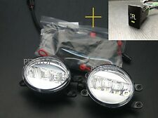 TOYOTA PRIUS GEN III 2010-2014 LED DRL daytime running light fog lamp lights