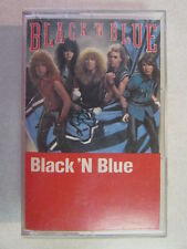 BLACK N BLUE S/T SELF-TITLED CASSETTE TAPE TOMMY THAYER KISS GUITARIST HARD ROCK