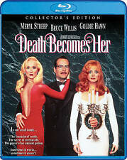 Death Becomes Her (Blu-ray Disc, 2016) w/Slip Cover