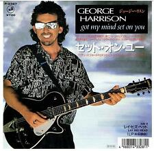 "GEORGE HARRISON GOT MY MIND SET ON YOU JAPAN 7"" P/S promo"