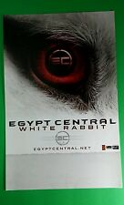EGYPT CENTRAL WHITE RABBIT RED EYE BAND FACE FUR 11x17 MUSIC PROMO POSTER