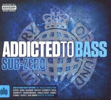 MINISTRY = addicted to bass Sub Zero = Sigma/Snake/Kiesza...=3CD= groovesDELUXE!