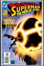 DC Comics SUPERMAN The Man Of Steel #100 Fortress Of Solitude NM 9.4