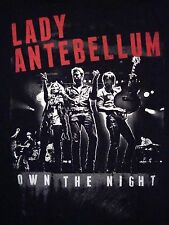 Lady Antebellum:Own The Night Concert Tour  Souvenir Country Music T Shirt S