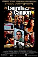 LAUREL CANYON Movie POSTER 27x40 Frances McDormand Christian Bale Kate