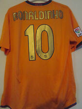Barcelona 2006-2007 Away Ronaldinho Football Shirt Adult Extra Large /39512