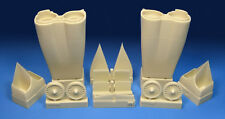 Barracuda 1/72 Rockwell B-1B Lancer Engine Intake Set # 72300