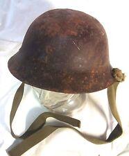 Vintage WWII Japanese army type 90 helmet japan Cap Hat M1217