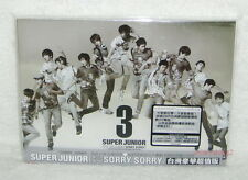 K-POP Super Junior Sorry Taiwan Ltd CD+DVD Ver.D (Video) SJ