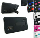 for LG Optimus G E970 ATT +Pry Tool Heavy Duty Dual Layer Hybrid Case Cover New