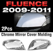 Chrome Mirror Cover Garnish Molding B695 For RENAULT 2010-2016 2017 Fluence SM3