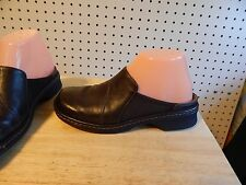 Womens Clarks shoe clogs - brown - size 6.5 M ~ #31902