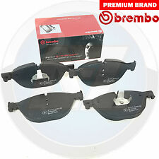 BMW serie 7 5 6 Delantero Pastillas De Freno Brembo Genuino Original Set 34116851269