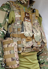 MTP Molle Tactical Vest / Multicam Plate carrier Chest webbing Army with Pouches