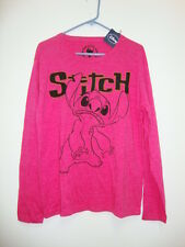 NWT Disney Pink Stitch Tee Shirts New L M Casual Men Women Plus Size XL 1X