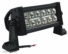 36W 12 LED Spot Beam Work Light Lamp Bar Tractor Jeep Truck Boat 4x4 12V 24V