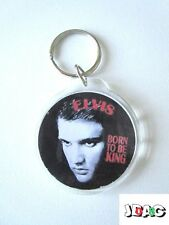 PORTE CLES KEY RINGS ELVIS PRESLEY ROKC'N'ROLL 45 mm