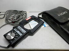 HIOKI CLAMP ON CURRENT PROBE -- AC 20-1000amps 50-60Hz - with Case - Banana plug