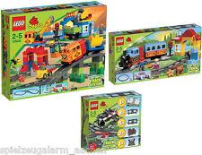 LEGO Duplo Eisenbahn Set Cargo 10506 + 10507 + 10508 Zubehör Zug Deluxe Train Se