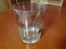Pre-owned, Drink Glass for Engineers, Engineering drinking glass, gold pics, EUC