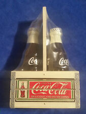 "Coca Cola  5"" Bottle Salt and Pepper Shakers Sealed - Coke"
