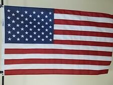 "USA 6X10' FLAG ""HIGH-WIND"" 2-PLY POLYESTER NEW US MADE by Flags Unlimited ltd"