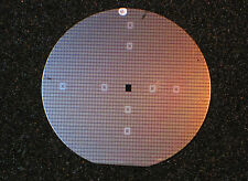Vintage 3 inch Silicon wafer - Motorola MC4024 Voltage controlled multivibrator