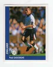 figurina DS CALCIATORI WORLD CUP FRANCE 98 NUMERO 293 INGHILTERRA GASCOIGNE