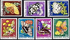Hungary 1974  Butterflies Insects Complete Set of stamps, MNH