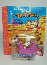 NEW 1993 Boley The Flintstones Bamm Bamm & Dino Pull Back Car Action Figurine