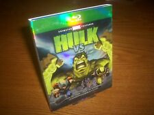 HULK VS... blu-ray US import region a free rare OOP slipcover slipcase Marvel