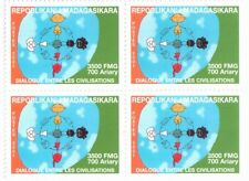 2001 Dialogue among civilizations - Madagasar - block of four