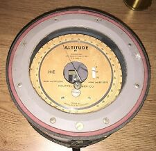 ALTITUDE ALTIMETER KEUFFEL ESSER WALLACE TIERNAN GAUGE SURVEY EQUIPMENT