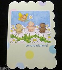 Leanin Tree New Baby Child Congratulations Greeting Card Multi Color R139
