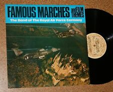 LP Vinyl Famous Marches an Film Themes The Band of the Royal Air Force Germany