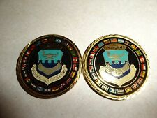 CHALLENGE COIN F-117A NIGHTHAWK STEALTH FIGHTER 25 YEARS 250000 HOURS AIR FORCE